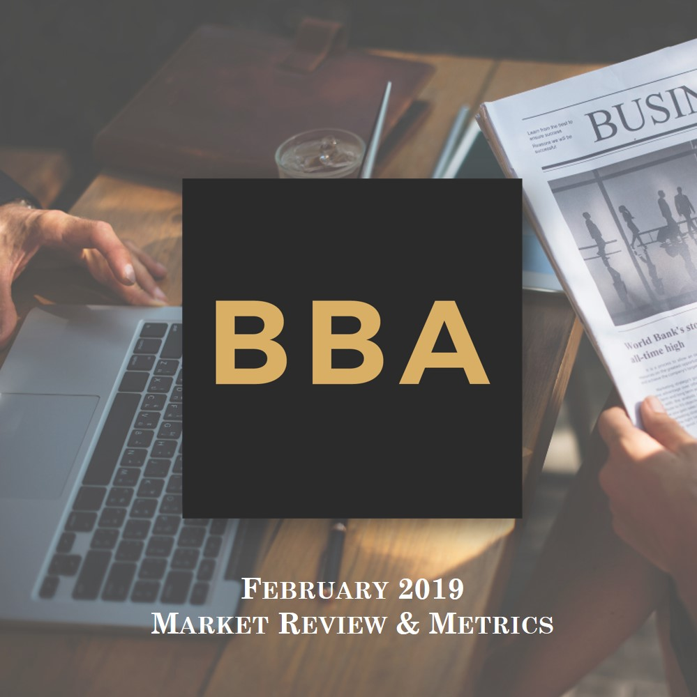 Financial Market Metrics - February 2019 (part 1 of 4)