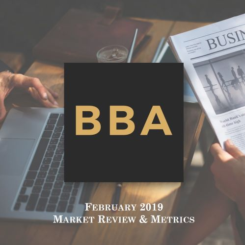 Financial Market Metrics - February 2019 (part 3 of 4)